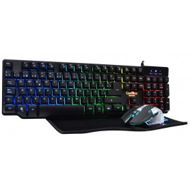 TECLADO COOLBOX USB TRALFOMBRILLA GAMING DEEP TEAM V2 RETROILUMINADO