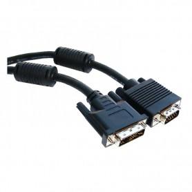 CABLE DVI A SVGA DVI 185M-HDB15M 1.8 M NANOCABLE 10.15.0402