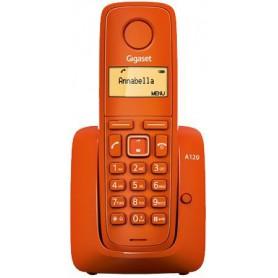 TELEFONO SOBREMESA GIGASET INALAMBRICO  A120 MONO NARANJA