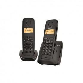 TELEFONO SOBREMESA GIGASET INALAMBRICO  A120 DUO NEGRO