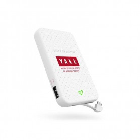 CARGADOR POWERBANK ENERGY EXTRA BATTERY 5000 YALL EDITI 3.7V5000MAH 446087UC