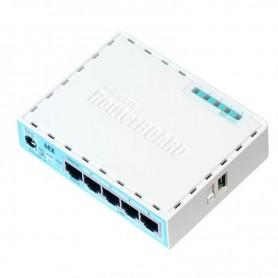 ROUTER MIKROTIK RB  750GR3  5 LAN GIGABIT ROUTEROS L4