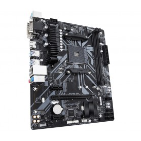 PLACA BASE AMD SAM4 GIGABYTE B450M S2H 2DDR4 PCIE M2 4SATA3 4USB3.1 DVI-D RAID H
