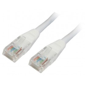 CABLE RED LATIGUILLO RJ45 CAT.6 UTP AWG24 BLANCO 1.0 M NANOCABLE 10.20.0401-W