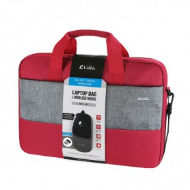 BOLSA PORTATIL  16 EVITTA SELECT PACK WIRELESS RATON RED EVLB000361