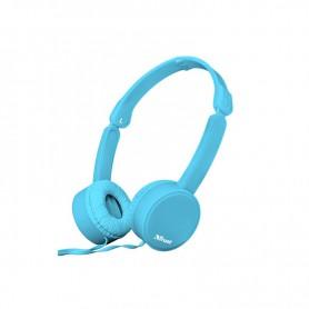 AURICULAR TRUST NANO HEADPHONES PLEGABLE SUMMER AZUL 23100