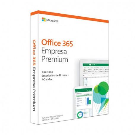 MICROSOFT OEM OFFICE 365 EMPRESA PREMIUM PKC 1 ANO 5 PCMAC KLQ-00405