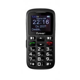 TELEFONO SENIOR FUNKER C50BL P1.8 BLUETOOTH EASY NEGRO