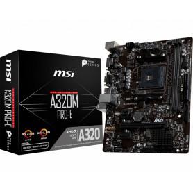 PB AMD SAM4 MSI A320M PRO-E 2DDR4 PCIE 6SATA3 DVI VGA MATX