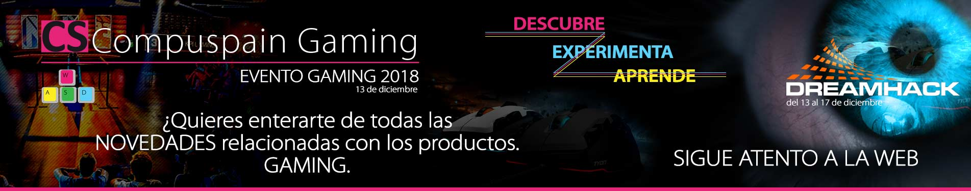 Evento Compuspain Gaming